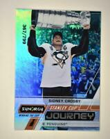 2020-21 UD Synergy Stanley Cup Journey Winning the Cup #CJ-SC Sidney Crosby /799