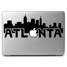 City of Atlanta with Apple for Macbook Air Pro Laptop Vinyl Decal Sticker
