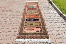3x10 ft Turkish Anatolian Hallway Rug Kayseri Carpet Vintage Tribal Runner Rug