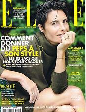 ELLE France 16 September 2016 ALESSANDRA SUBLET Cindy Bruna SOLANGE WILVERT @New