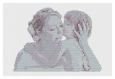 Mother and Daughter Cross Stitch Kit by Florashell