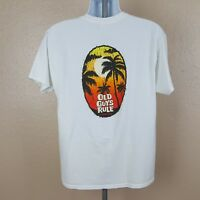 Old Guys Rule Mens T-Shirt Size L White TH11