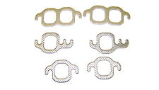 57-95 FITS CHEVY SBC 265 283 302 305 307 327 350 V8 EXHAUST MANIFOLD GASKET SET