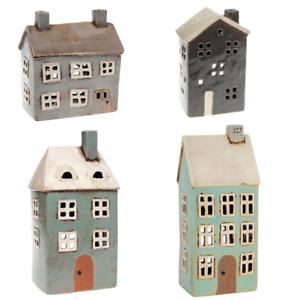 Village Pottery Ceramic Tea Light Holder - Multi Listing you Select