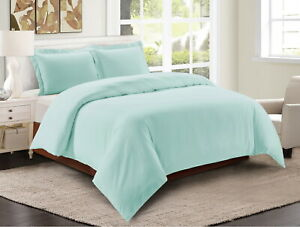 Egyptian Comfort 3 Piece Duvet Cover Set 1800 Count Ultra Soft Cover Comforter