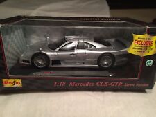 Mercedes Benz CLK GTR Street Version Maisto Special Edition 31849 1/18 scale