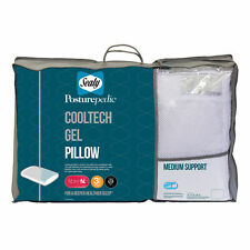 Sealy Posturepedic Cooltech Gel Pillow Medium Support 3 Year Guarantee