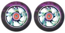 Bulletproof 100mm Scooter Wheels Metal Heat - 2 Pack