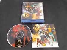 Sega Dreamcast Pal Game THE HOUSE OF THE DEAD 2 with Box Instructions