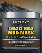 100% Natural Mineral Infused Dead Sea Mud Mask Facial Treatment Skin 8.8 oz