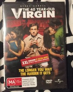 The 40 Year-Old Virgin DVD New Sealed
