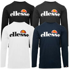 Ellesse Small Logo Grazie Long Sleeve T-Shirt Langarm Pullover Shirt SHC07406