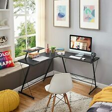 Home Office L Shaped Corner Computer Desk 508 Pc Study Table Workstation Stand