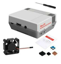 NES3Pi ABS Case Kit With Cooling Fan Uesd For Raspberry Pi 3B+ / 3B /2B