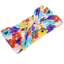 Baby Kids Girl Flower Bow Hairband Turban Knot Rabbit Headband Headwear Good #06