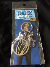 One Piece Sanji Vinsmoke Fuji TV Store Exclusive Keychain Carbineer Key Holder