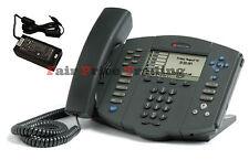 Polycom Soundpoint IP 600 -6 Line SIP Phone Telephone & PSU - Inc VAT & Warranty