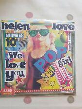 """Helen Love We Love You Orange 7"""" Vinyl EP"""