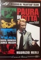 Paura in Città DVD Maurizio Merli Come Nuovo Ancora Sigillato Editoriale  Citta'