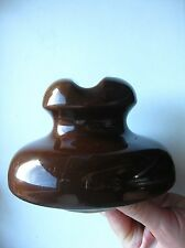 Old 1965 Russian (Soviet) porcelain insulator with trade mark