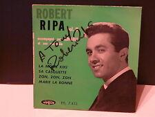 ROBERT RIPA La mome Kiki / sa casquette .. Vol 8 EPL 7453 Dédicacé devant !!