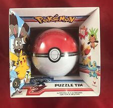 Pokemon XY Eevee Eeveelutions & Pikachu 100 Piece Puzzle Greatball Tin Cardinal