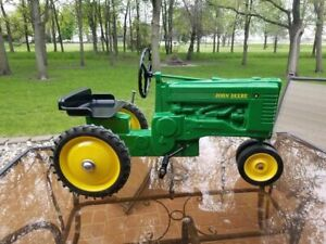 John Deere Model A Narrow Front Pedal Tractor by ERTL Unassembled NIB!