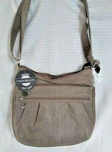 Travelon Messenger Bag  NWT Grey