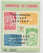 PANAMA 1963 OVPT SS VISIT OF US ASTRONAUTS GLENN SCHIRRA COOPER MICHEL BL 13