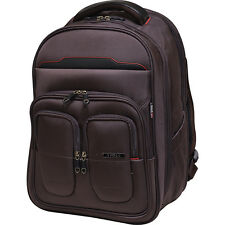 "Travelers Club Luggage 19"" Flex-File Business & Laptop Backpack NEW"