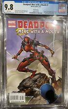 DEADPOOL MERC WITH A MOUTH #7 CGC 9.8 3rd Print 1st Lady Deadpool RARE 🔥