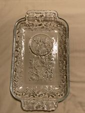 """Glass Luncheon Tray 7"""" X 10"""" Comes With A Spot For The Matching Tea Cup!"""