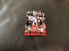 MICHAEL JORDAN BULLS 1998 UPPER DECK MJx Timepieces DC SP /2300 RED #16 RARE!