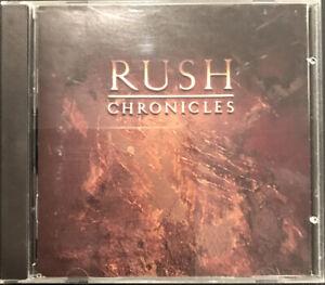 Rush - Chronicles CD 1990 2 Disc Mercury - 838 936-2 (FATBOX)