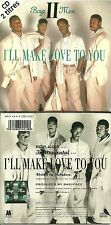 CD 2 TITRES - BOYZ II MEN : I' LL MAKE LOVE TO YOU