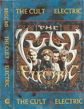 THE CULT ELECTRIC CASSETTE ALBUM BEGC80 BEGGARS BANQUET CHROME HARD ROCK