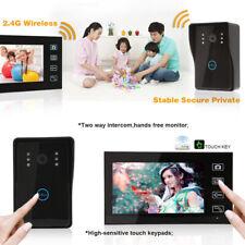7 Inch Wireless Video Doorbell WiFi Door Phone 1x IR Camera 1x Monitor Intercom