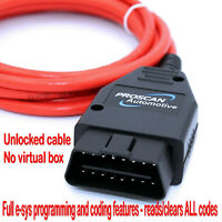 ENET F-Series Interface Cable Lead ICoM Coding OBD2 Diagnostic Coding fits BMW