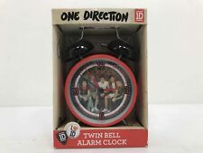 One Direction Twin Bell Alarm Clock Metal Case Quartz Accuracy