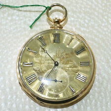 Cooper London 18k Gold Working (Keeping Time) Pocket Watch