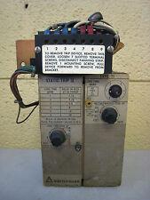 Allis Chalmers Switchgear Type TI Static Trip II Overcurrent Trip Device Unit