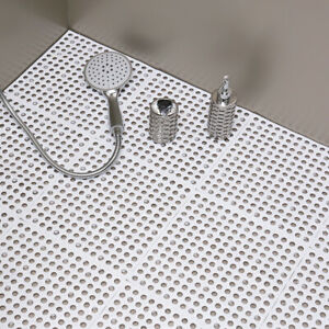 Bathroom Carpet Non Slip Square PVC Bath Mats Home Kitchen Toilet Accessories