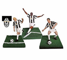 PLAYWELL STARS OF SPORT FOOTBALL JUVENTUS ZAMBROTTA + THURAM + NEDVED FIGURE NEW