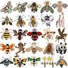Biene Fliegendes Insekt Brosche Zubehoer Der Kleidung Emaille Tier Broschen Pin