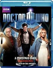 Doctor Who Christmas Carol 0883929170180 Blu-ray Region a