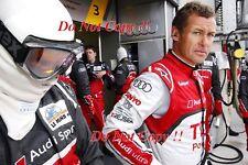 Tom Kristensen Audi 9 Times Le Mans Winner Portrait Photograph 3