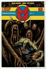MIRACLEMAN #11 (VF+) Eclipse 1987 Alan Moore John Totleben Nice Copper-Age Issue