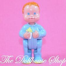 Fisher Price Loving Family Dream Dollhouse Blue baby boy doll nursery People