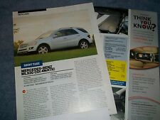 2006 Mercedes-Benz ML320 CDI 4Matic Info Article