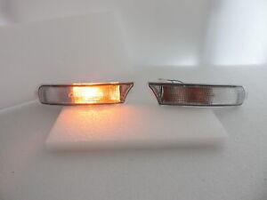 Clear Crystal Corner Indicator Signal Lights For Subaru Impreza  GC8 GF8 RX WRX